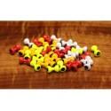 Yeux de Plomb - Paints - Sac de 10 - Choix de 6 couleurs et de 5 grosseurs.
