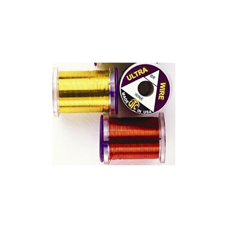 The Wire Torrent >> UTC Copper Wire. Standards colors. - Fly tying - L'ami du ...