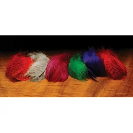 Sarcelle - Plumes de Flanc - Sac de 1 Gr. - Choix de 6 couleurs. De 2.00$ a 3.60$.
