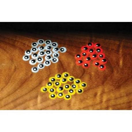 Yeux de Poupée - Sac de 12 - Choix de 4 grosseurs et de 3 couleurs