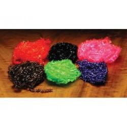 Ice Chenille - Sac de 3 vgs. - Choix de 2 grosseurs et de 17 couleurs.