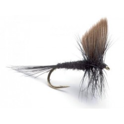 Neptune - Trout Flies - Dry - Black Gnat.