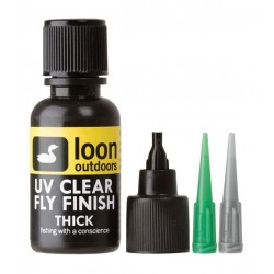 Loon résine UV clear flyfinish
