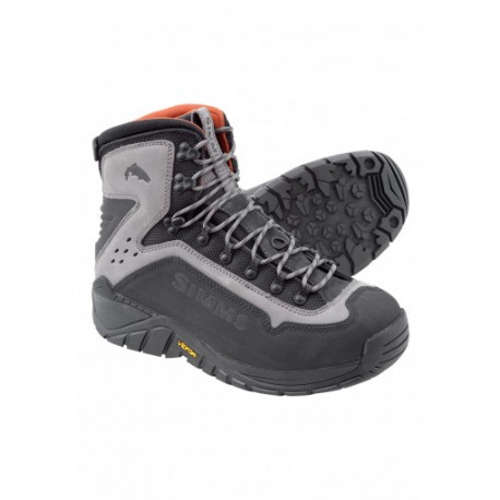 Simms - G3 Guide wading boot - Vibram soles.