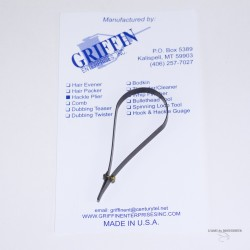 Griffin Tear Drop Hackle Plier
