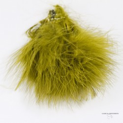 "Marabou Strung - Lenght 3"" at 4 "" - Bag of 3 Gr."