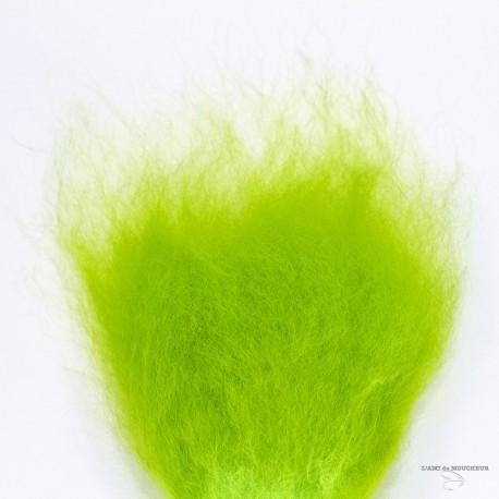 """Streamer Hairs (Mouton Islandais )- Sur Peau 2""""X3"""" - Choix de 15 couleurs"""