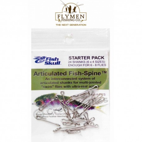 Fish-Skull - Articulated fish spine - Starter pack