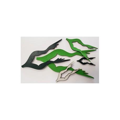 Atrap - Pattes de grenouille - Modèle semi-nageuse
