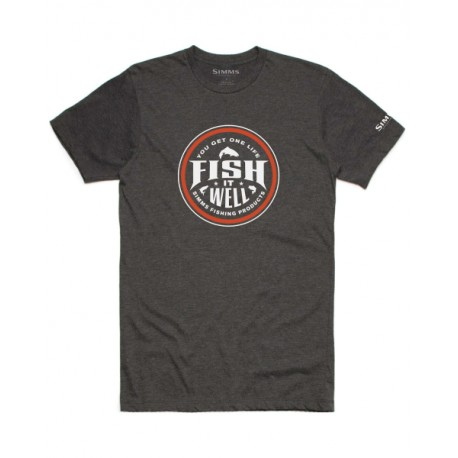 Simms - T-shirt Fish it Well
