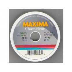 Maxima ultra-green or chameleon Spool 27yds 10 to 20 lbs. Test