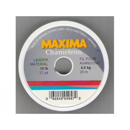 Maxima ultra green ou chaméléon Bobine 27vgs 10 a 20 lbs. Test
