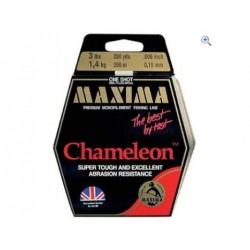 Maxima ultra-green or chameleon Spool 280 yds 4 to 8 lbs. test